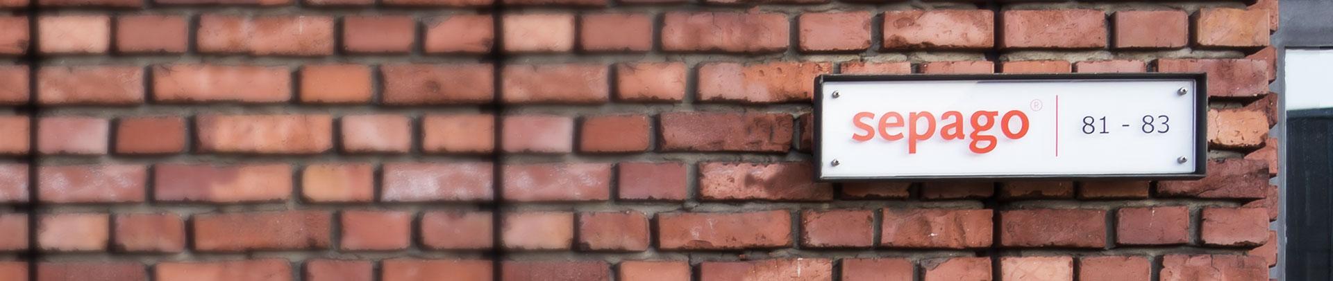 sepago Backsteinmauer