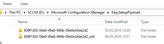 System Center Configuration Manager v1511 to v1602 upgrade issue