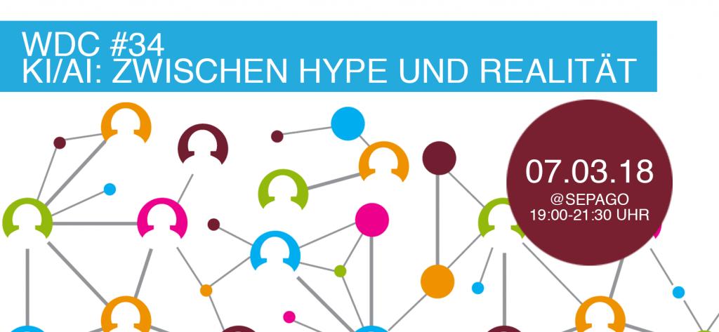 Künstliche Intelligenz: Zwischen Hype und Realität Web de Cologne Netzwerktreffen @sepago