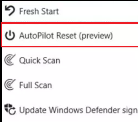 How to completely remote reset and redeploy Windows 10 Devices with