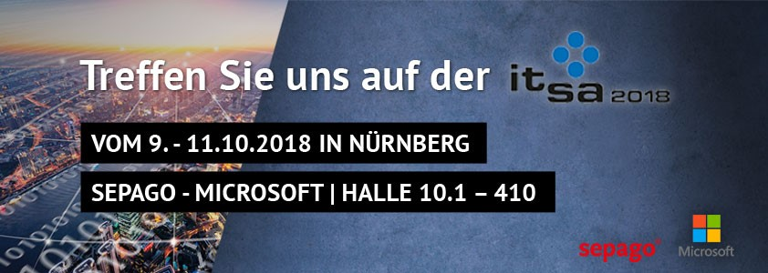 it-sa 2018 – Europas führende IT-Security Messe mit sepago Beteiligung